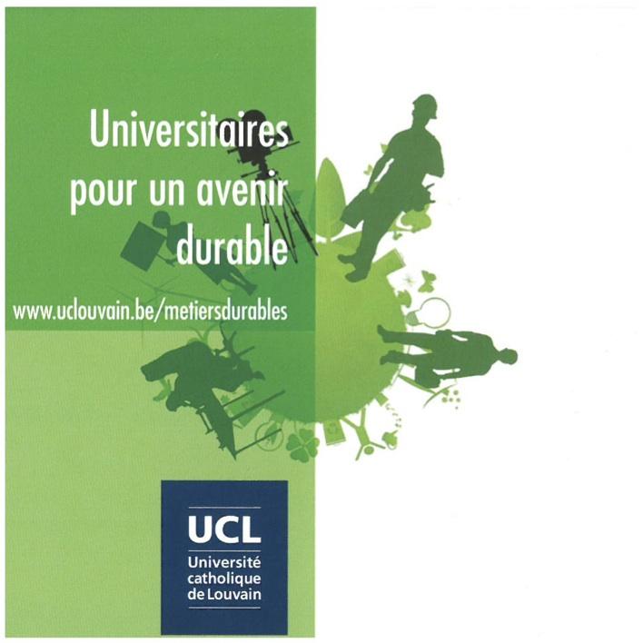 Universitaires pour un développement durable
