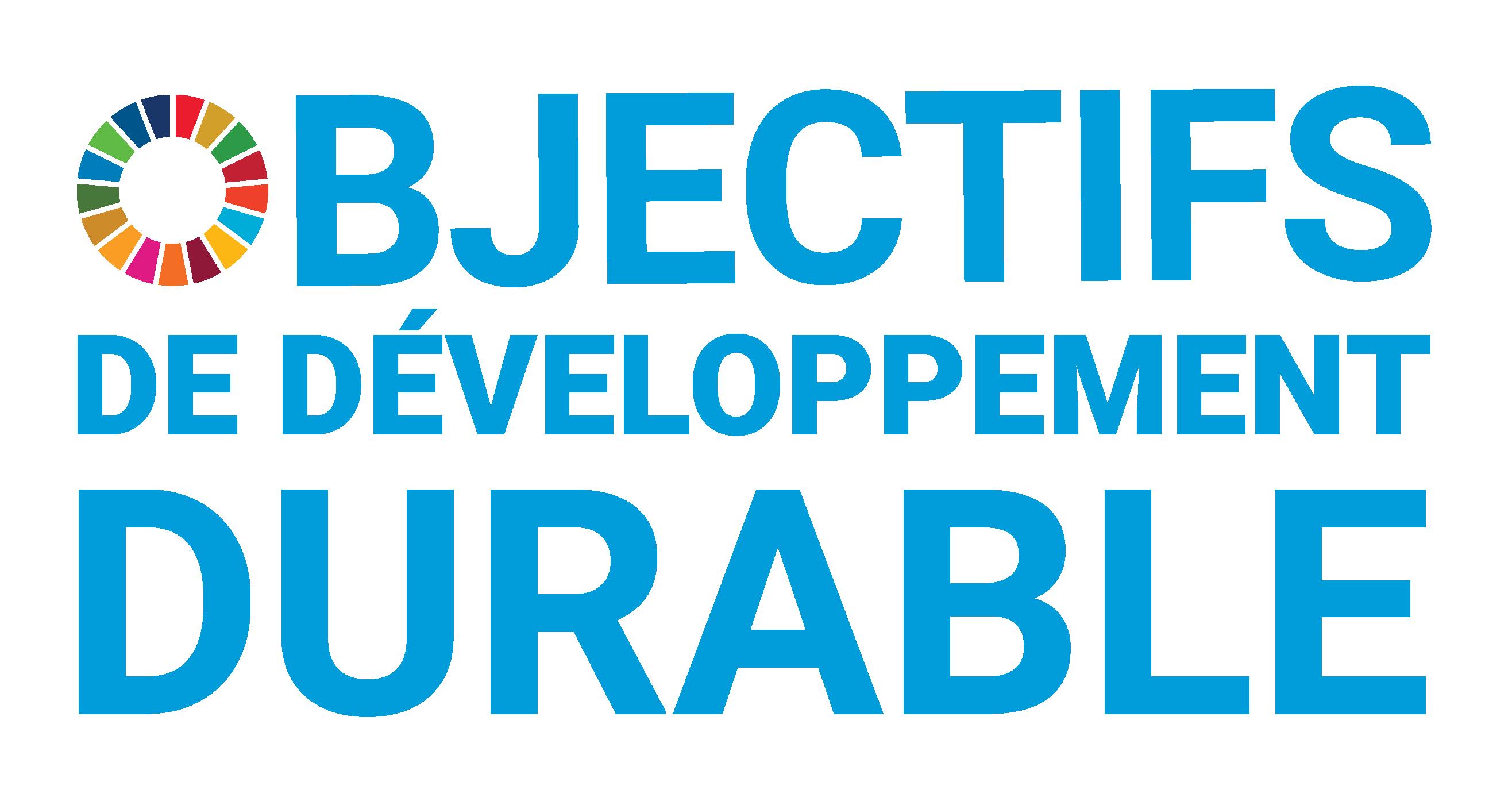 Objectifs pour le développement durable