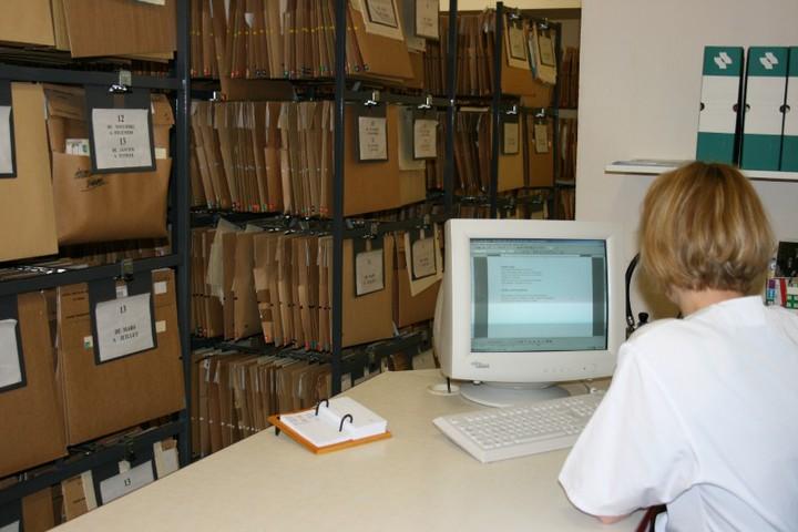 Historien - archiviste médical