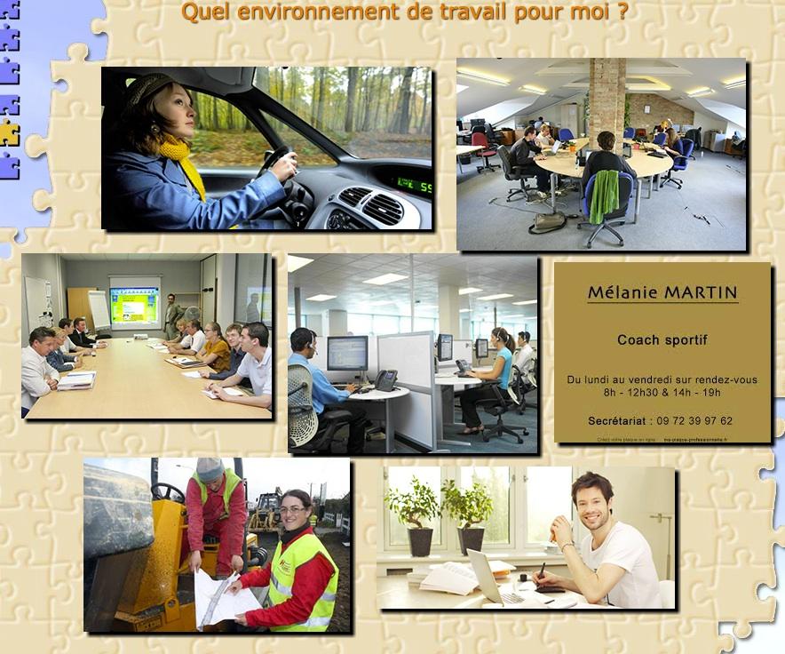 Diversité des environnements de travail: co-working, télétravail, déplacements, plateaux