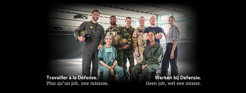 Travailler à la Défense belge