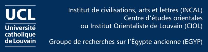 Groupe de recherches EGYP (UCL / INCAL / CIOL)