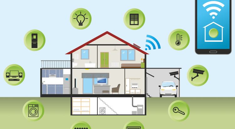smart and social home